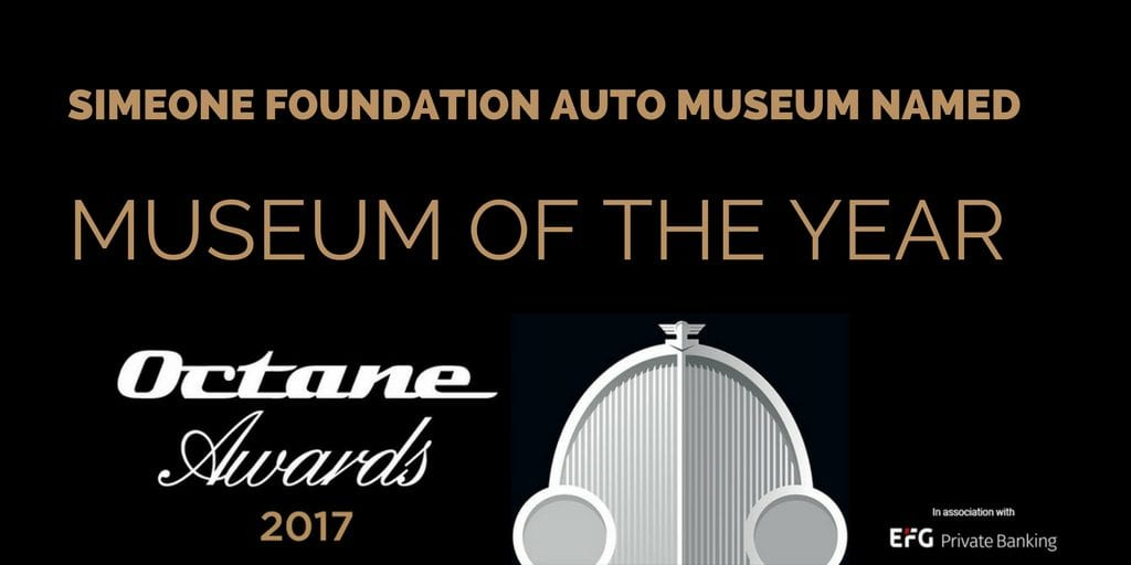 Octane Awards Museum of the Year Announcement 2