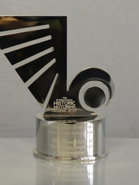 trophy 2013 ihma publication of the year