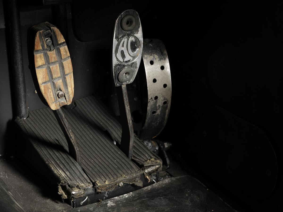 1964 shelby daytona coupe pedals 1