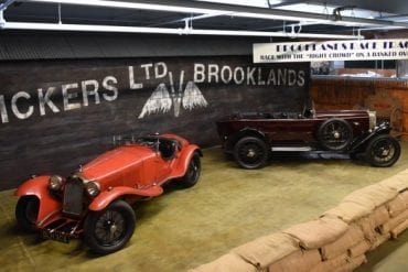 simeone museum exhibit brooklands track 690x391