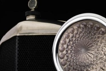 1916 oakland model 38 speedster headlight