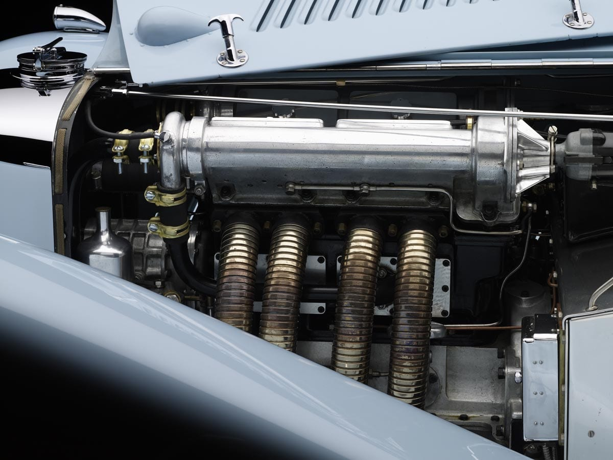 1933 squire engine exhaust