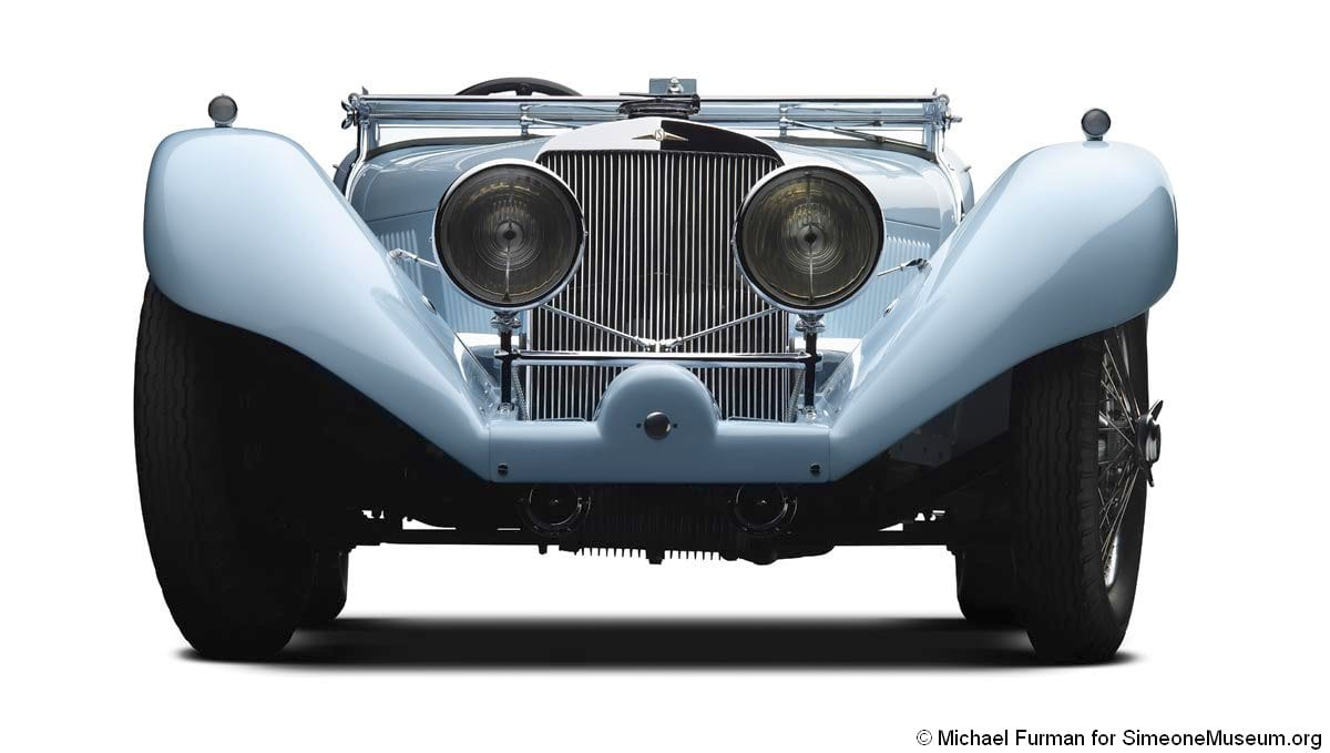 1933 squire front