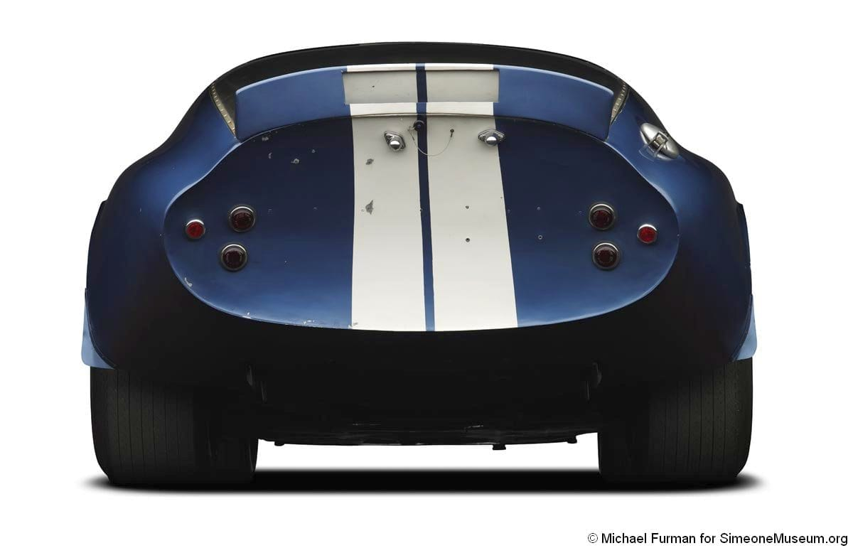 1964 shelby daytona coupe rear