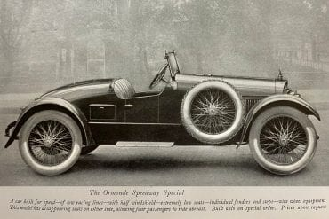 The Biddle Ormonde Speedway Special