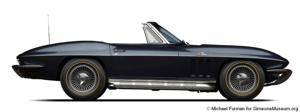 1966 corvette 427 roadster side right 1