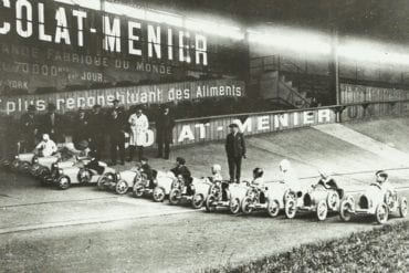 Baby Bugatti Starting Grid